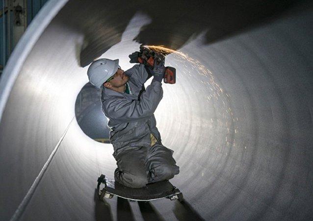 德国尤尼珀公司:首批北溪-2管道铺设工作于7月底在德国开始