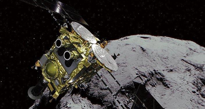 日本「隼鳥-2」號探測器抵達目標「龍宮」小行星