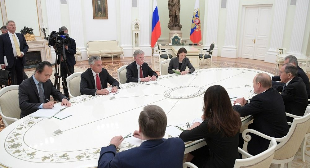 博尔顿不排除美俄就核裁军问题举行会谈