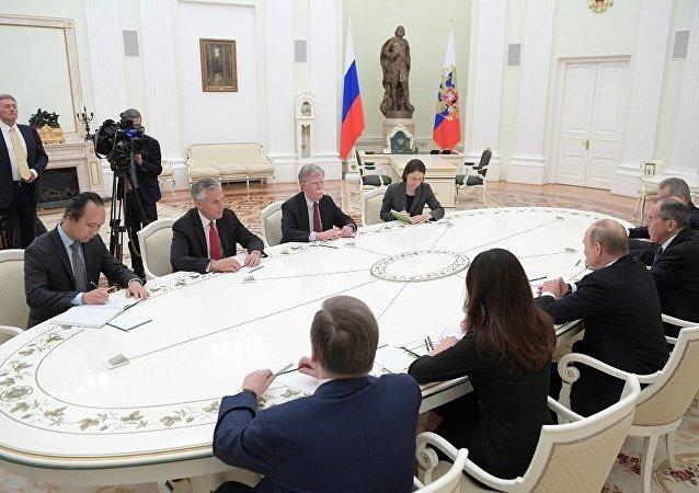 博爾頓不排除美俄就核裁軍問題舉行會談