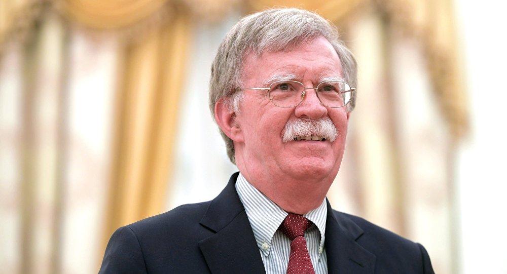 美國總統國家安全顧問博爾頓