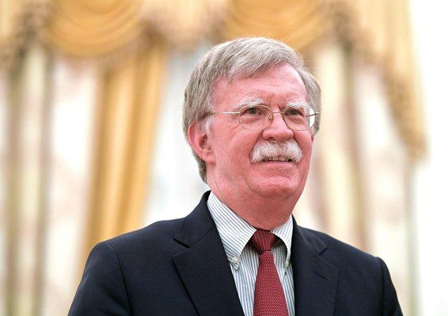 美国总统国家安全顾问博尔顿