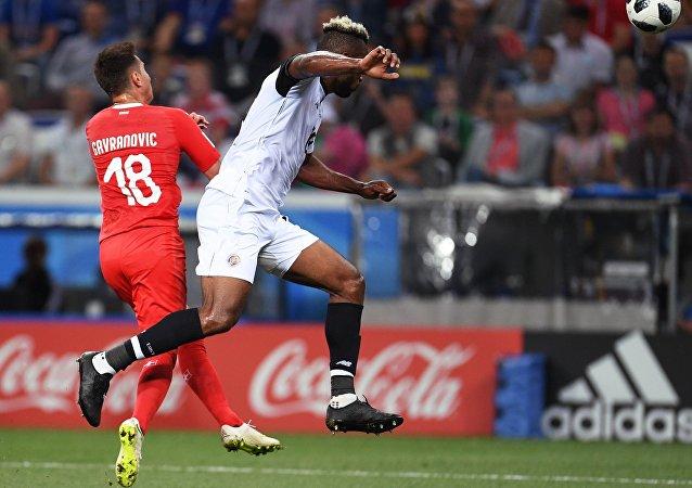 瑞士戰平哥斯達黎加 晉級世界杯八分之一決賽