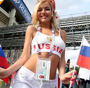 最美俄罗斯球迷
