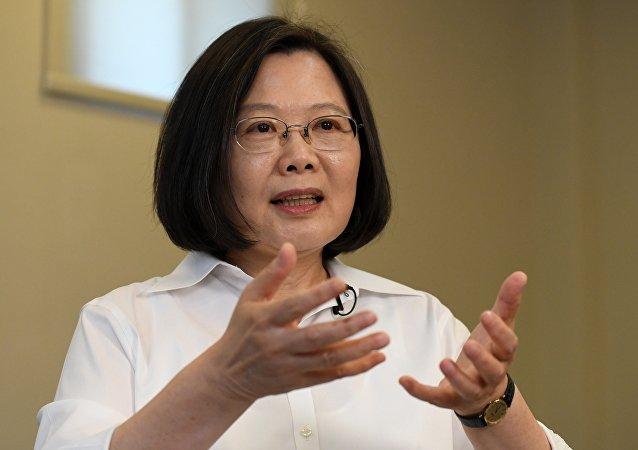 蔡英文谋求2020年连任台湾行政长官
