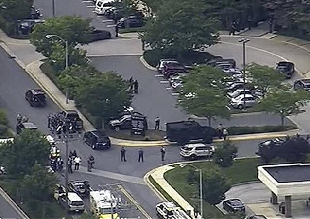 美國馬里蘭州的CAPITAL GAZETTE編輯部發生槍擊案