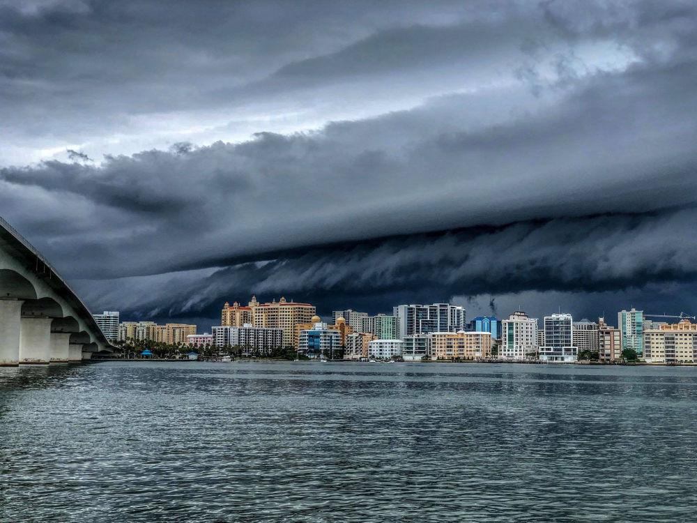 薩拉索塔風暴,美國