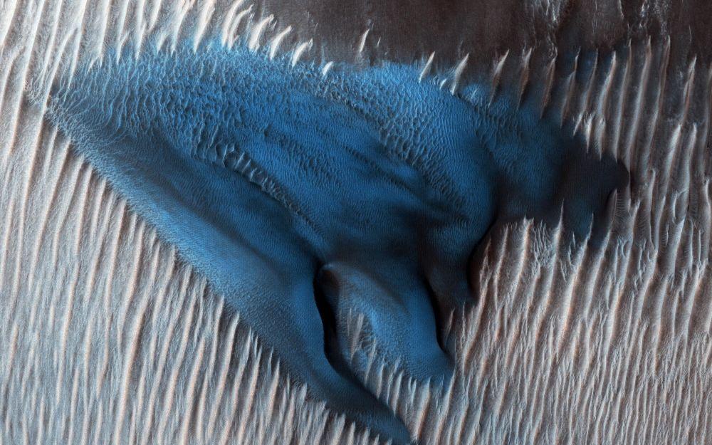 火星上的沙丘