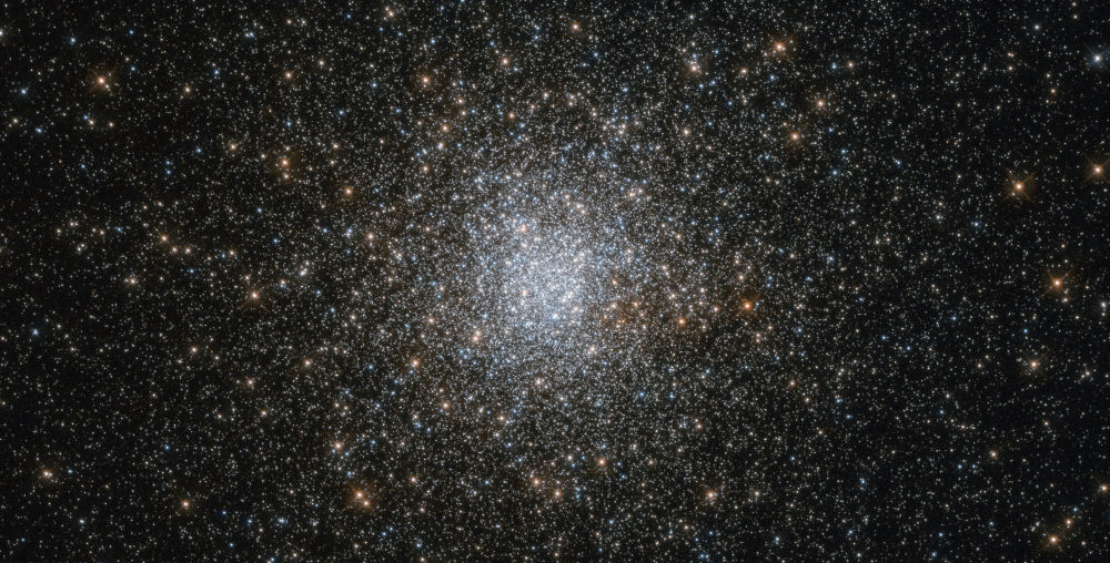 在銀河中的NGC 6139球狀星團