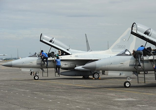 FA-50 multirole light fighter aircraft