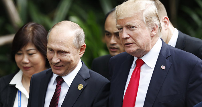 普京和特朗普被纳入美国《时代》杂志2018年度人物评选的最后角逐名单