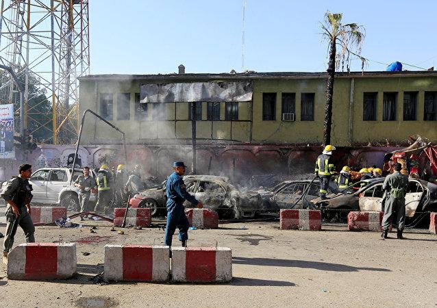 阿富汗東部恐襲導致10多人死亡