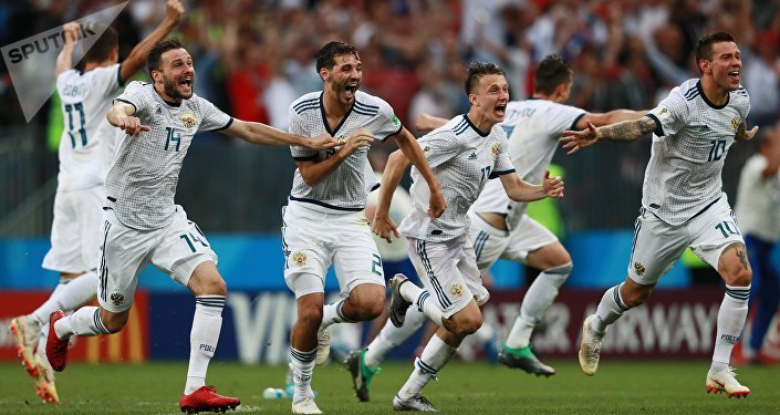 2018世界杯俄罗斯队点球大战击败西班牙队