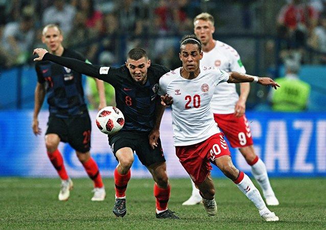 克罗地亚点球大战战胜丹麦挺进8强(资料图片)