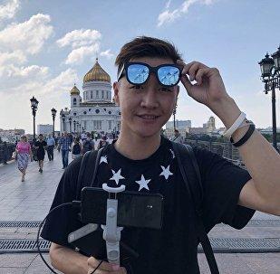 各路媒體齊聚世界杯 鬥魚主播來到莫斯科