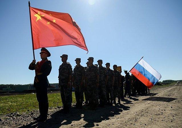 中俄两国陆军在联合演训等方面合作成果显著