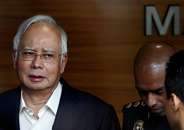 媒体:马来西亚前总理纳吉布被捕