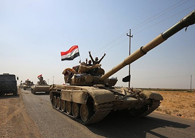 伊拉克安全部队消灭一支14名武装分子的IS分支机构
