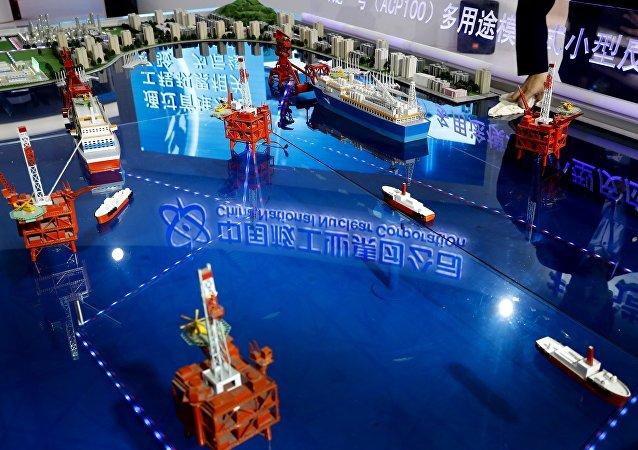 中国欲造核动力破冰船?