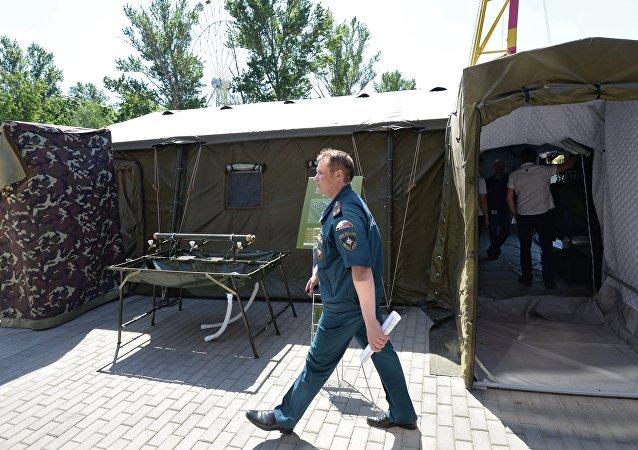 自控野戰營地