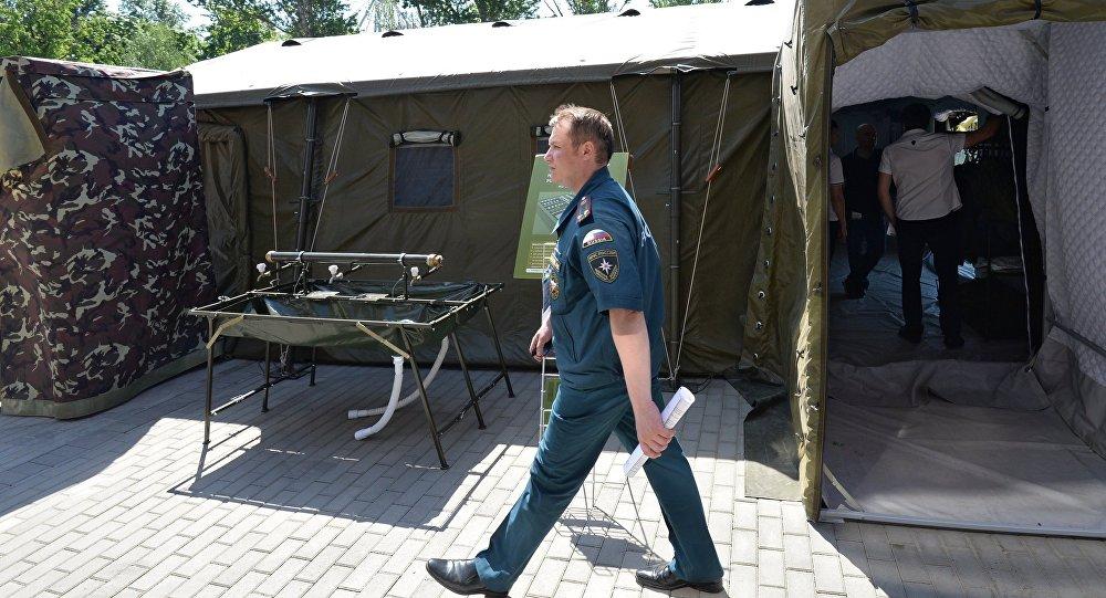自控野战营地