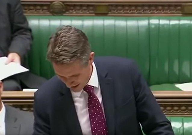 英国国防大臣发表关于叙利亚讲话时被Siri打断(视频)