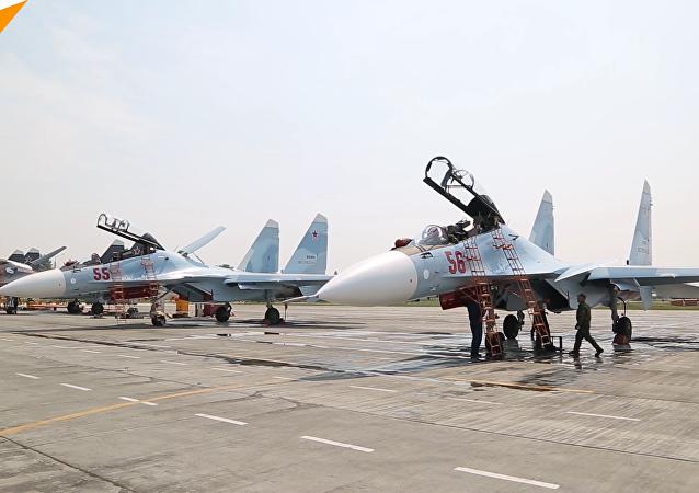首批苏-30SM战机加入西部军区将在库尔斯克地区组建飞行大队