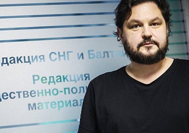 俄羅斯衛星通訊社拉脫維亞語網站主編