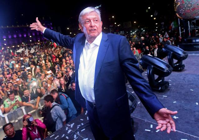 墨西哥新總統洛佩斯·奧夫拉多爾