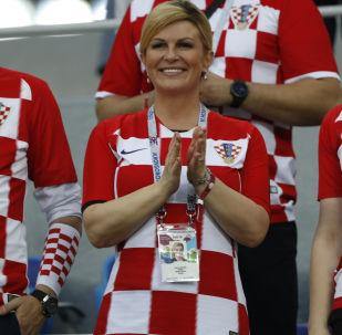 克罗地亚总统将在索契世界杯比赛期间会见俄总理