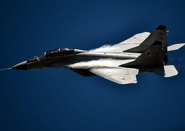 一架米格-29在波蘭失事 飛行員喪生。