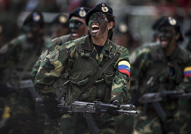 """委内瑞拉威胁美国称或成""""第二个越南"""""""
