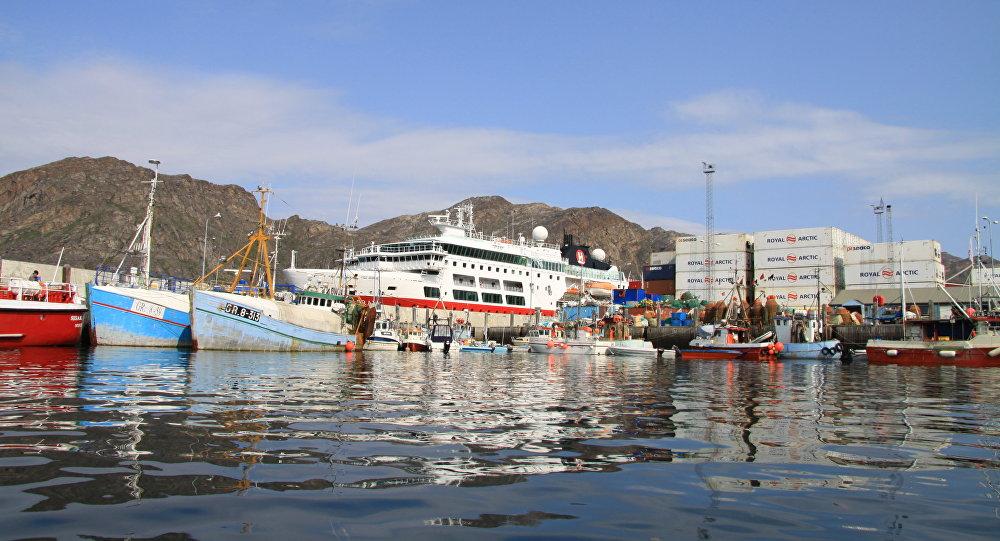 格陵蘭島港口