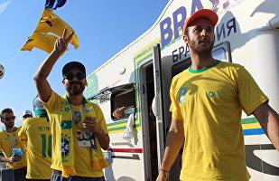 巴西房车将喀山变成了里约热内卢