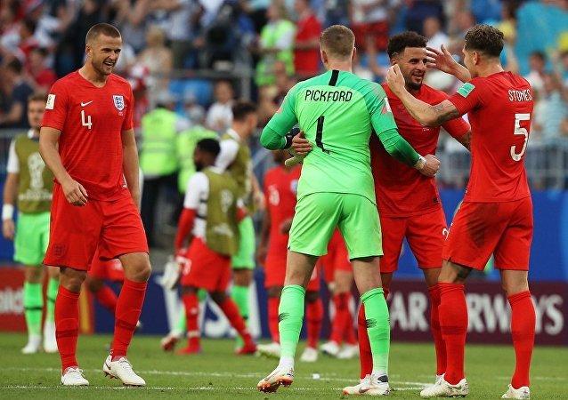 英國隊擊敗瑞典隊自1990年後首次進入世界杯半決賽。
