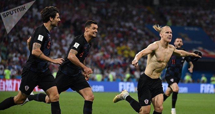 """国际足联正在收集克罗地亚球员高喊""""荣耀属于乌克兰""""的证据"""