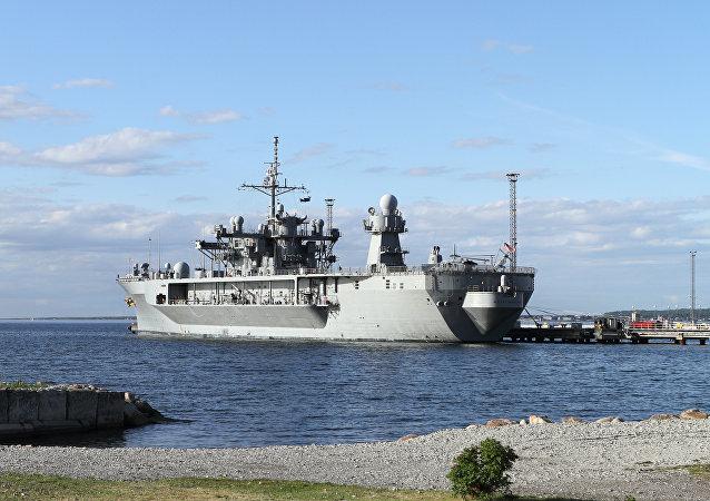 美國軍艦在黑海