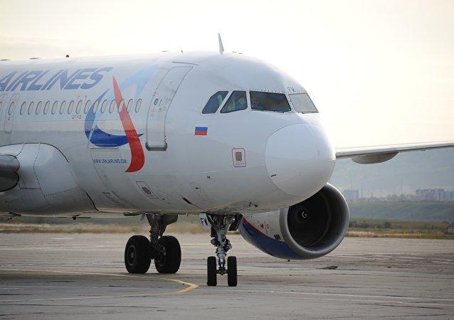 俄乌拉尔航空飞机