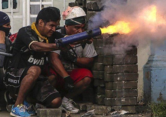 尼加拉瓜抗议游行死亡人数上升至323人