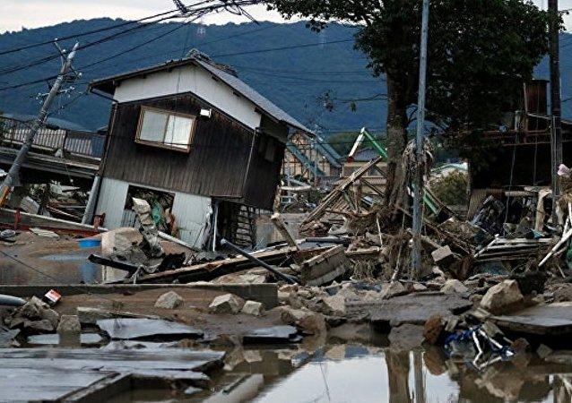 符拉迪沃斯托克市長就日本颱風災難向日本總領館表示慰問