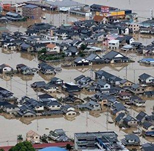普京致電安倍哀悼日本洪災遇難者