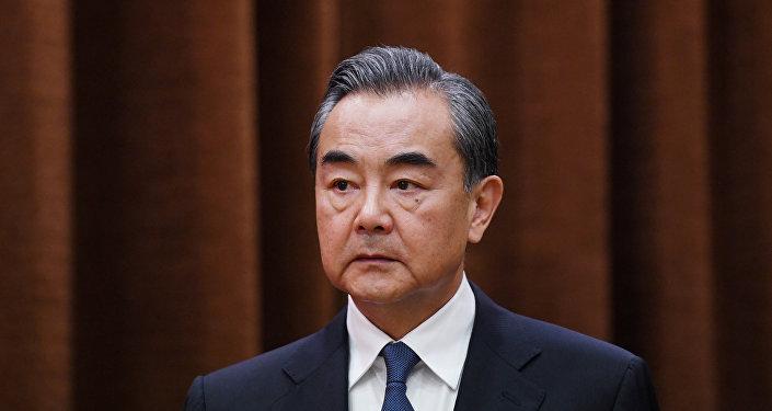 中国国务委员兼外交部长王毅