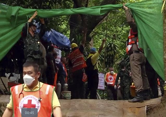 泰國被困少年足球隊員已有7人獲救