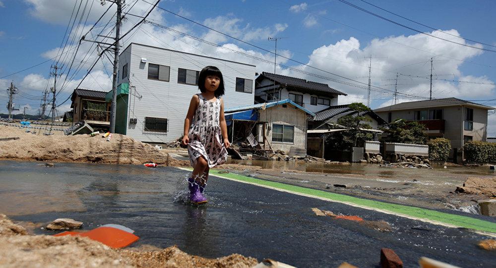 日本洪災死亡人數升至204人 82人下落不明