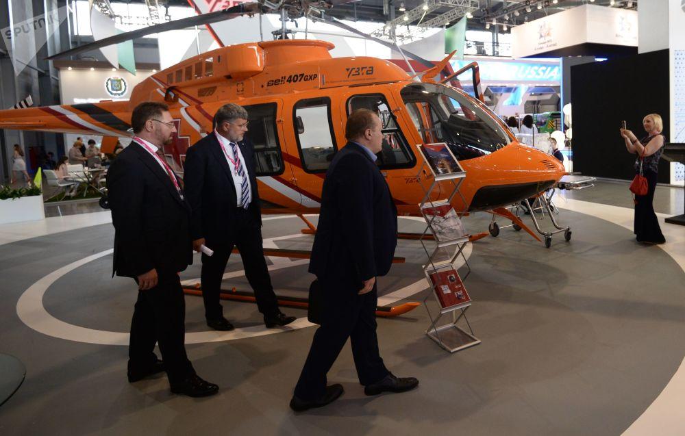 贝尔-407GXP通用型多用途直升机