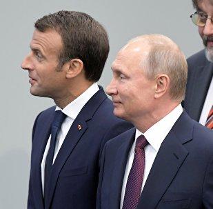已確定俄法總統接觸的計劃 後者欲來俄觀看世界杯決賽
