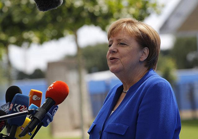 默克爾回應特朗普關於德國依賴俄羅斯的指責