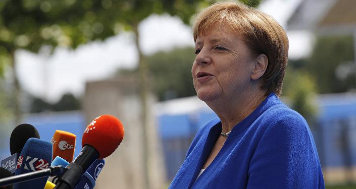德国总理安格拉·默克尔