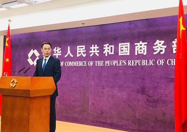 中国商务部发言人高锋