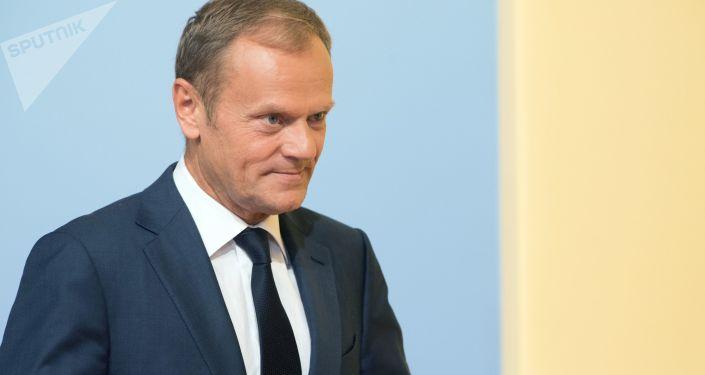 """欧洲理事会主席:短期推迟""""离婚""""可行  前提是英国议会要通过退欧协议"""